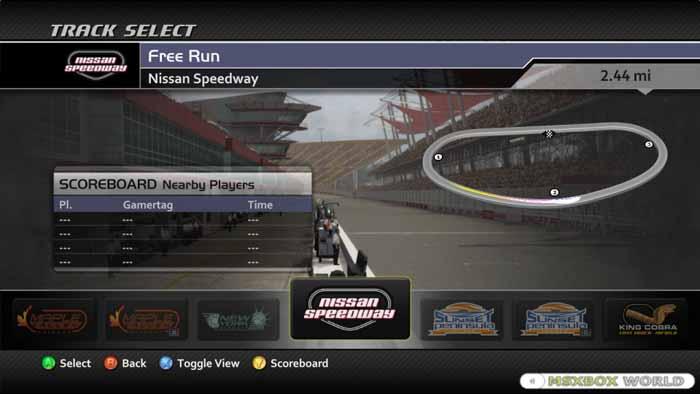 FM2: Nissan Speedway